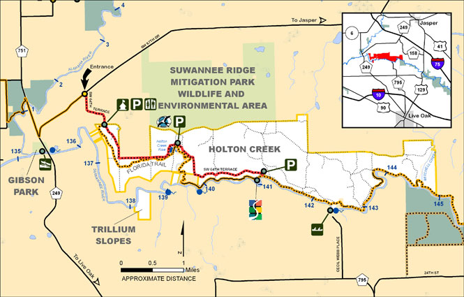 Holton Creek Map