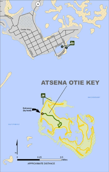 Lukens, Atsena Otie Map