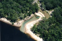 Aerial View of Little River