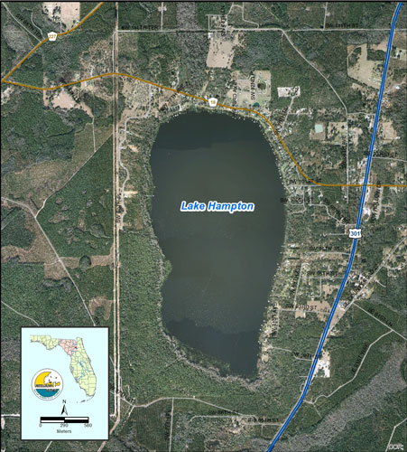 Lake Hampton Map