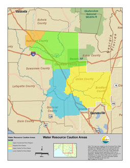 Water Resource Caution Areas