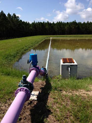 Reclaimed Water Line, Camp Weed, Suwannee County, FL